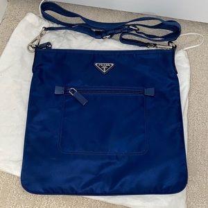 Prada Nylon Messenger Bag Large